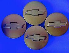 4pcs. BLACK Chevy Suburban Tahoe Center Caps 9596403 3.25 18 20 22 inch MATTE