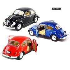 3 PC Set: NEW Kinsmart 1967 Volkswagen Classical Beetle VW Diecast Model 1:24