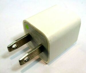 Apple A1385 OEM Authentic USB Wall Charger for iPhone Genuine