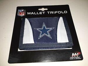 Dallas Cowboys NFL Tri-Fold  Nylon Wallet