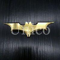 Alloy Man Batman Batarang Money Clip Bronze Stainless Steel Gold Color Wallet