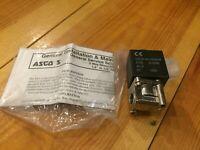 New Asco Solenoid Valve SC8261S421 6W, 230V 50/60Hz