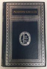 Modern Ghosts 1890 Hardback Guy De Mauspassant Pedro De Alarcón PreownedBook.com