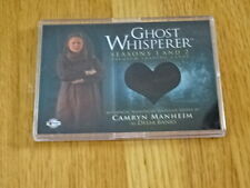 GHOST WHISPERER TV CAMRYN MANHEIM WARDROBE PIECEWORKS CARD! BREYGENT COA GC18