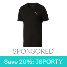 PUMA Iconic V-Neck T-Shirt Men Tee Basics New 677c927cf