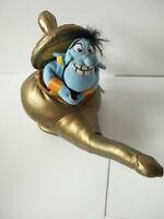 "BNWT Disney world rare Aladdin genie in the lamp soft toy plush 10"" VGC"