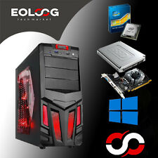 PC FISSO GAMING COMPUTER DESKTOP INTEL CORE i7 SSD 120GB HDD 1TB RAM 8GB GTX