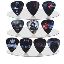Star Wars Darth Vader Yoda Guitar Picks Lot of 10 .71 mm Medium US Seller New