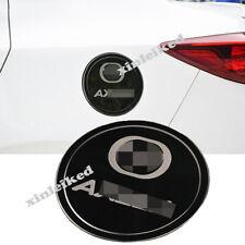 Black titanium Car Fuel Oil Tank Gas Cap Cover for Mazda 3 Axela 2017-2019