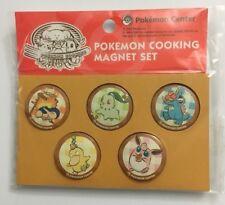 Pokemon Cooking Magnet Set Psyduck Totodile Cyndaquil Wigglytuff Chikorita