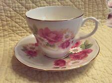 Duchess England Bone China Cup & Saucer Stella Rose / Daisy Pattern #370 Nice M