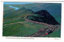 Postcard: Snowdon Mountain Railway, Snowdonia National Park, Wales