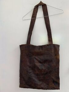 Undercover by Jun Takahashi Distressed Leather Bag AW06 Collection - Rare!