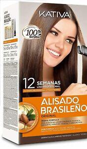 Kativa Brazilian Keratin Argan Oil Treatment Hair Straightening KIT bigger size