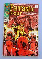 FANTASTIC FOUR #81, SILVER AGE, VG-FN, 1968