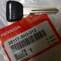 Genuine Honda Civic CRX Del Sol Prelude CR-V Key Blank New OEM 35117-SH3-013