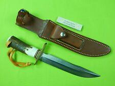 Rick Schuchmann SCAR RANDALL Scagel Zacharias Fighter 030 Type Bowie Stag Knife