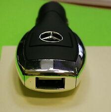 orig Mercedes USB Ladegerät Charger Schlüsseloptik 4A Zigaretten anzünder 1 Port