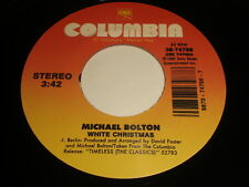 Michael Bolton: White Christmas / Reach Out I'll Be There 45