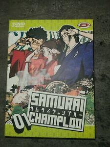 Samurai Champloo box 1 Edition Standard