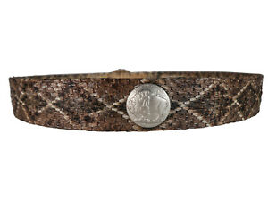 1 inch Real Rattlesnake Hat Band (598-HB102) 9UC17