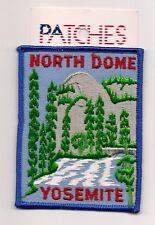 SOUVENIR PATCH -YOSEMITE CALIFORNIA - NORTH DOME