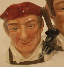 Royal Doulton Blacksmith D6585 Miniature size character jug-Williamsburg Series