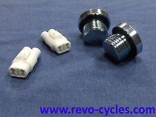 REVO M109R M1800R VZR1800 Oxgen Sensor O2 Eliminator 08-on (A pair w/2 plugs)