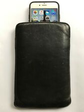 Vintage Soft Leather Pouch w/ Belt Loop for iPhone/Smartphone - 5.5-inch Display