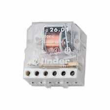 Finder 10A Step Relay 230VAC SPST-NO & SPST-NC 26.03.8.230.0000 Finder PCB Mount
