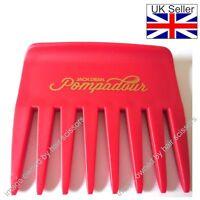 Streaker Comb Rake Wet or Dry De-tangle Hair Style JACK DEAN professional RED