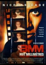 affiche du film HUIT MILLIMETRES 120x160 cm