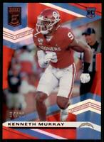 2020 Elite Rookies Aspirations #134 Kenneth Murray /91 - Los Angeles Chargers