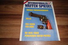 INTERNATIONALER WAFFEN-SPIEGEL 3/1983 -- SAUER SSG 2000 /SELBSTLADEPISTOLE P 226