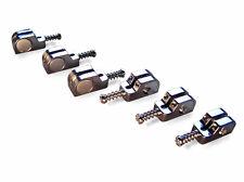 Babicz Full Contact Hardware Stratocaster Saddle Kit - Chrome