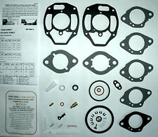 1957 67 CARB KIT ROCHESTER B BV & BC MODEL 1 BARREL 6 CYL  CHEVROLET - ETH TOL