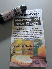 COFFEE (NECTAR OF THE GODS)!! Essential Oil Personal AROMATHERAPY Inhaler