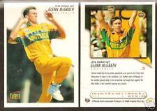 FUTERA 1996 WORLD CUP CRICKET GLENN McGRATH No 25.