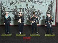 Steadfast SF30 Royal Navy Marineros + Crew 1900 De Metal Conjunto figura soldado de juguete