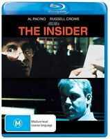 The Insider (Blu-ray, 2013) BRAND NEW SHRINKWRAPPED FREE FAST SHIPPING