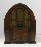 1934 Zenith Model 805 Tabletop Cathedral Radio
