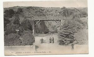 1907 LL Postcard no 168 JERSEY - St Helier Le Mont es Pendu