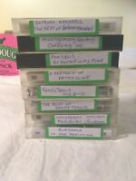 Country Music Cassettes Lot Of 8 Used