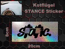 Static guardabarros Sticker Adhesivo arista guardabarros arista Deep stance Illest
