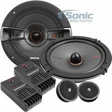 "Kicker 44Kss6504 250W Rms 6.5"" Ks 2-Way Component Car Stereo Speaker System"