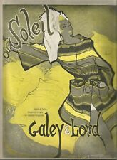 60's Roy Colonna Illustrated Galey & Lord  Fashion Ad 1960
