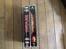 2 Vhs Movies. Bruce Willis. Die Hard and Armageddon