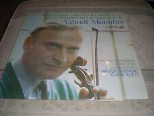 Mendelssohn-Concierto para violín-Menuhin = HMV ASD 334 Sello
