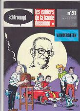 VANDERSTEEN Schtroumpf revue BD no 51 TBE