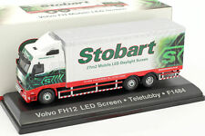 Volvo FH mobile LED Screen Teletubby F1484 Stobart Vert / Blanc 1 76 Atlas
